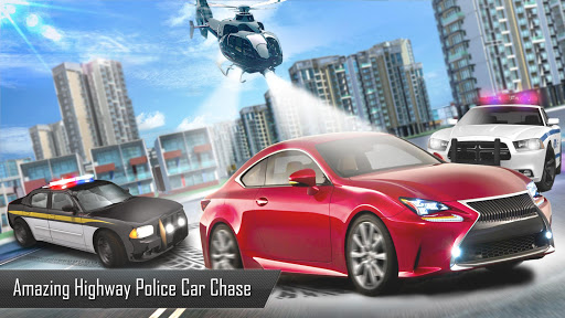 Police Car Games 2019: Highway Chase - screenshot