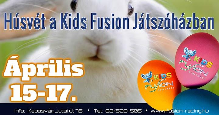 Húsvét a Kids Fusion Játszóházban 2017 Kaposvár