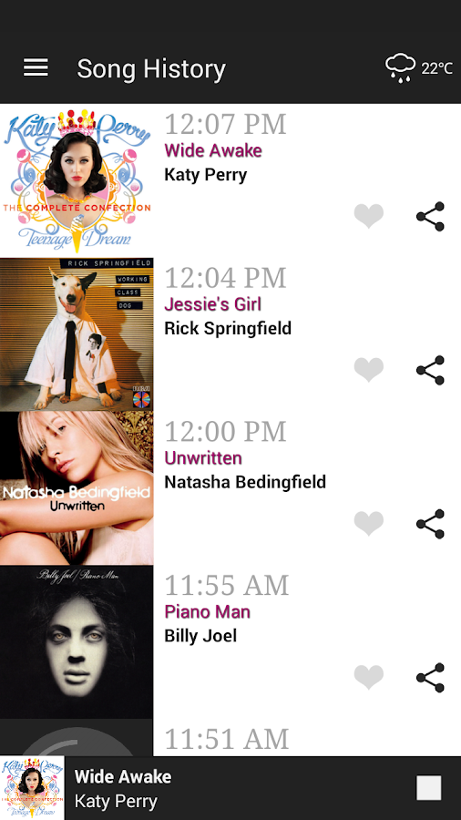 B105.7 Soft Rock- screenshot