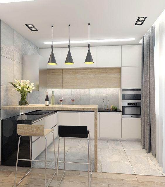Thiết kế phòng bếp chung cư nhỏ đẹp