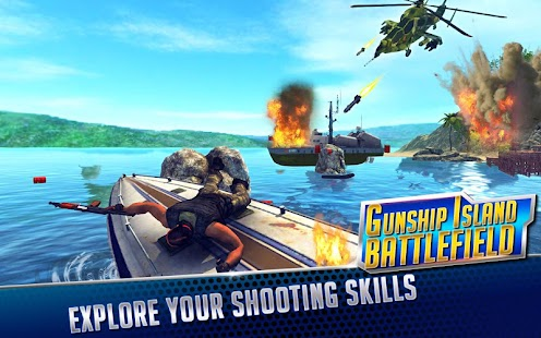 GUNSHIP ISLAND BATTLEFIELD- screenshot thumbnail