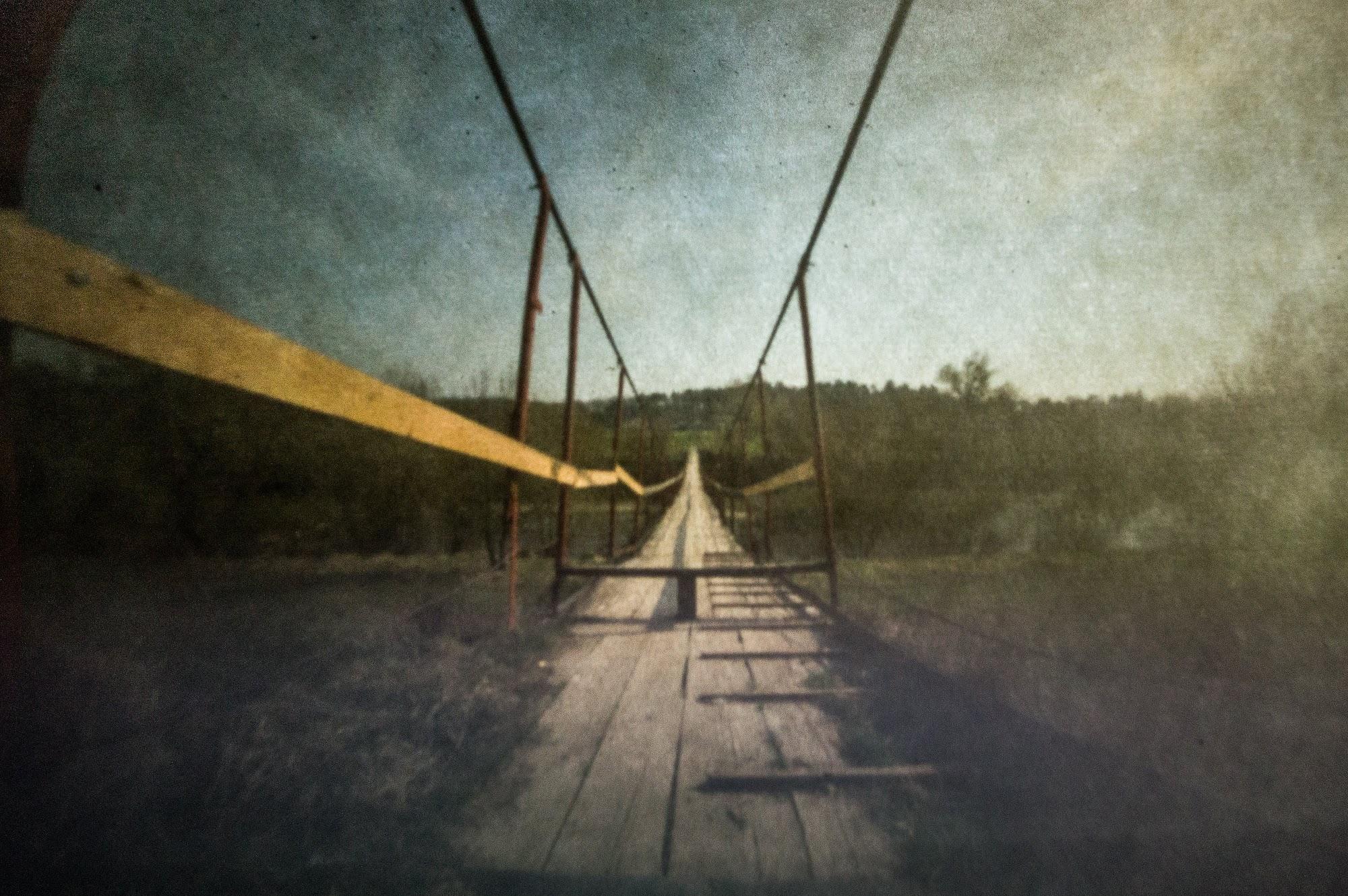 Підвісний міст через Тетерів