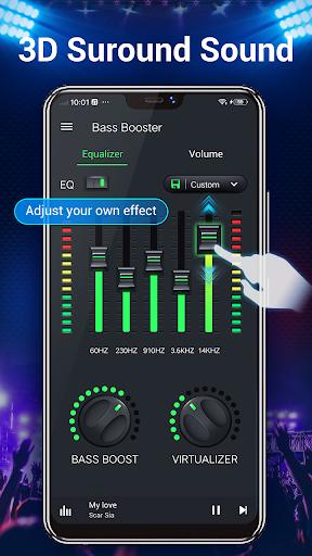 Equalizer -- Bass Booster & Volume EQ &Virtualizer 1.3.6 screenshots 2