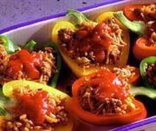 Speedy Stuffed Peppers Recipe