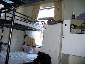 Photo: Blick ins Hostelzimmer im YHA