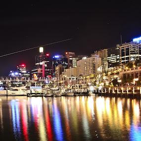 Darling Harbour, Sydney by Eric Dimaano - City,  Street & Park  City Parks ( landmark, travel )