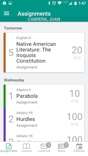 School Loop screenshot