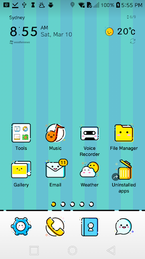 Smiling Theme for LG G6 G5 V30 V20 G4 G3 V10 K10 1 0 Apk