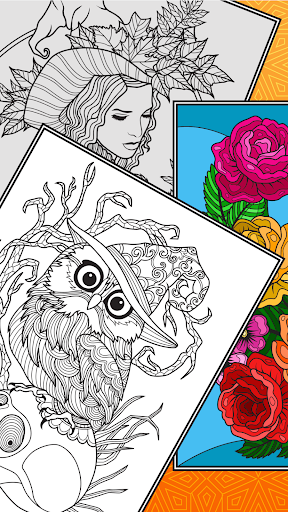 Colorish - free mandala coloring book for adults painmod.com screenshots 18