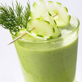 Cucumber and Dill Smoothie.