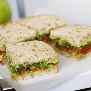 Avocado, Celery and Tomato Sandwiches