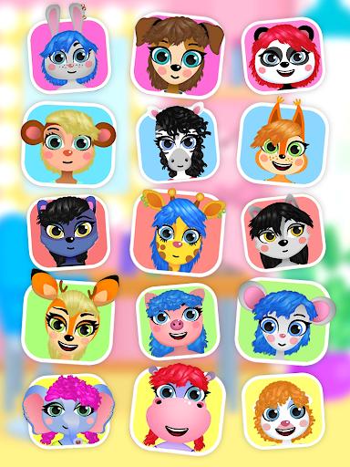Hair salon : animals 1.1.0 screenshots 15