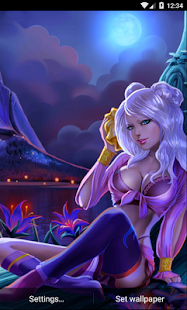 Night Girl HD Wallpaper- screenshot thumbnail