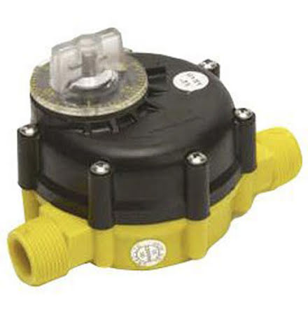 Vattenmätare / Vattentimer 0 - 2.000 liter *