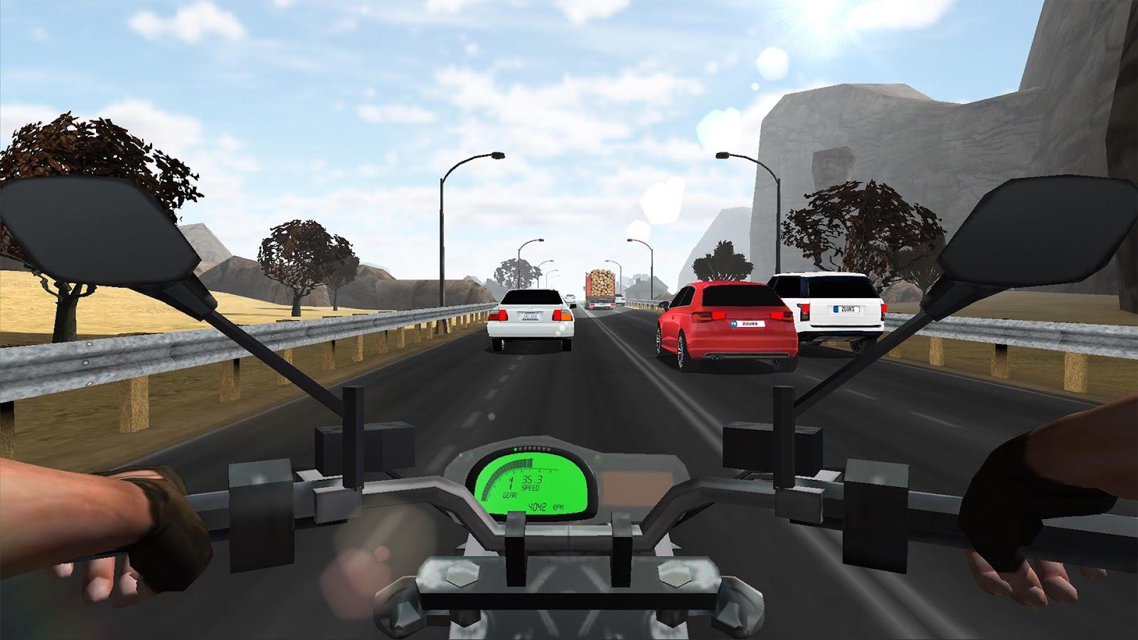 Traffic Rider : Multiplayer- screenshot