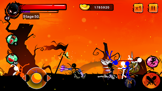Stickman Ghost Ninja Warrior Action Game Offline 2.0 Mod Apk [DINHEIRO INFINITO] 5
