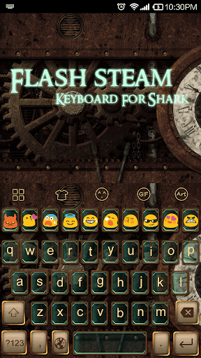 Flash Steam -Video Keyboard