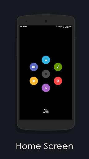 Amoled Launcher screenshot 2