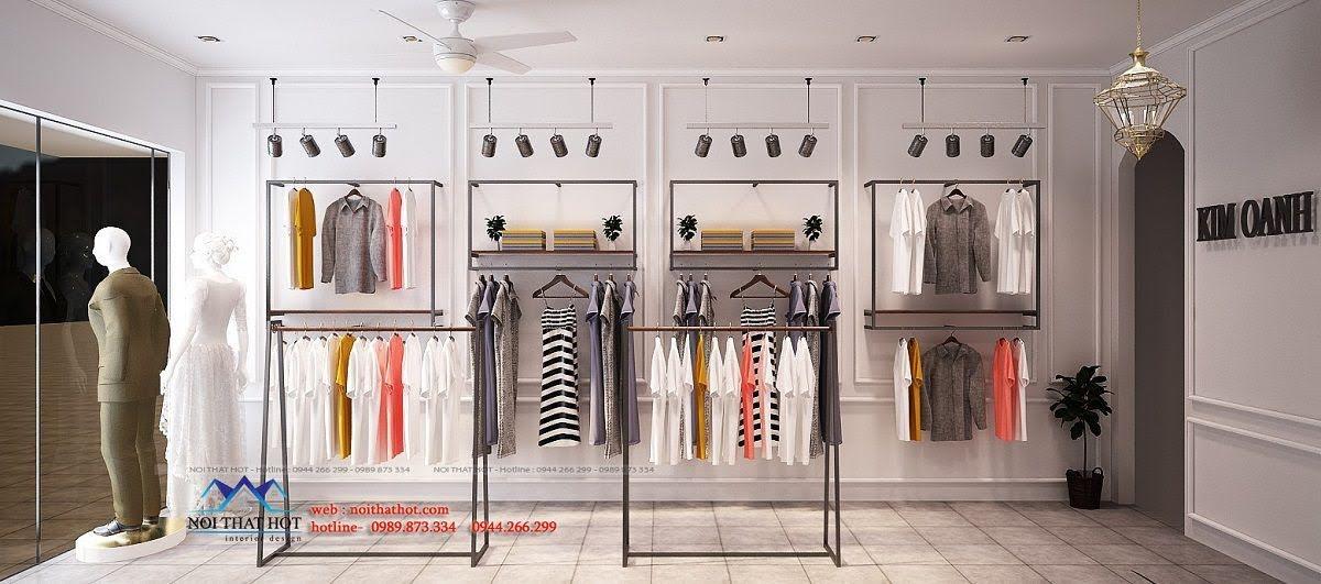 thiết kế shop thời trang may đo 4