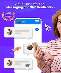 Second Line, Receive SMS Online, Temp Number, eSim 1