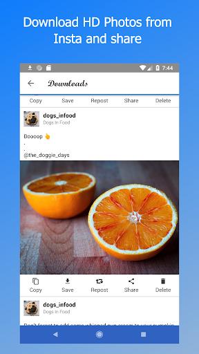 Video Downloader - for Instagram - Repost IV Saver 2.2.6.9 screenshots 2