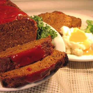 Glazed Meatloaf.