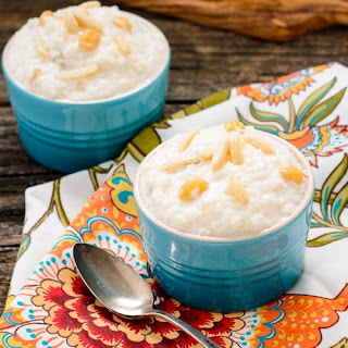 Slow-Cooker Kheer (Indian Rice Pudding).