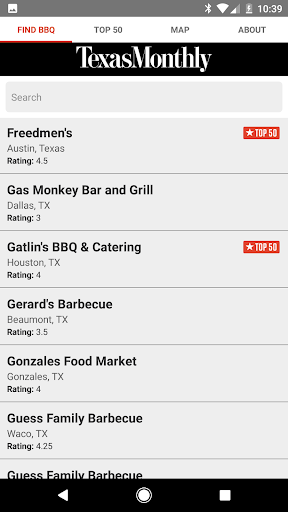 Texas Monthly BBQ Finder  screenshots 2