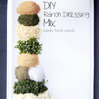 DIY Homemade Ranch Dressing Mix