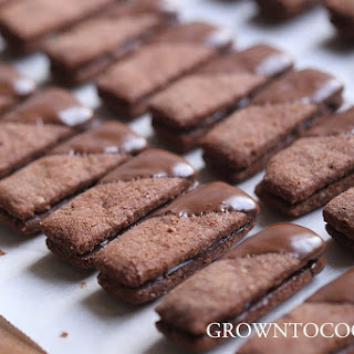 Chocolate Almond Sticks