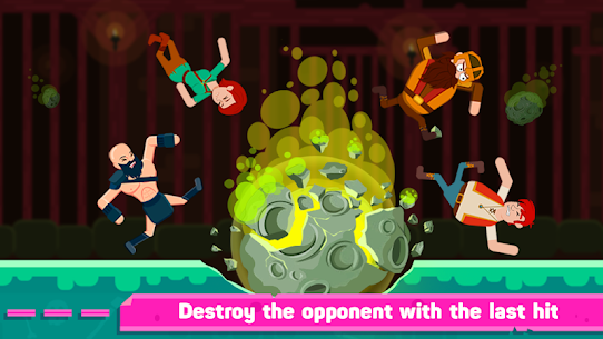 Ragdoll Warriors: Crazy Fighting Game Apk Download For Android and Iphone 4