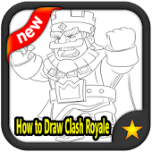 Tải Game How to Draw Clash Royale