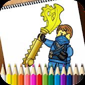 Coloring Book Lego Ninjago