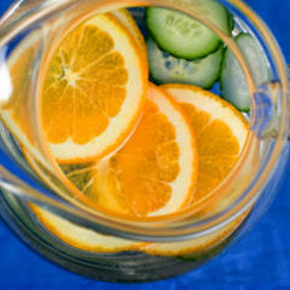 Cucumber-Orange Water