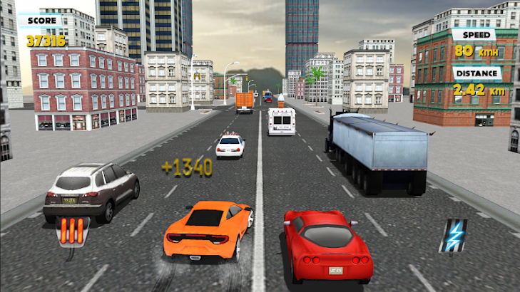 Traffic Racer 3D- screenshot thumbnail