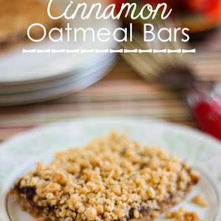 Cinnamon Oatmeal Bars