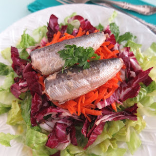 The Easiest Sardine Salad Ever!