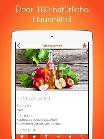 android Natürliche Hausmittel Screenshot 5