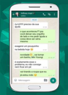 WhatsFake (Fake Chat) - náhled