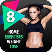 Lose Weight In 8 minute workout : Home exercises