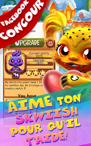 Save Our Skwiish: Charm Heroes A Fun Match 3 Quest  captures d'u00e9cran 24