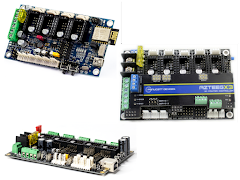 Modular Stepper Driver Controller Boards
