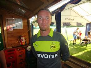 Photo: Ein Bayern-Fan mit Charakter ;-)