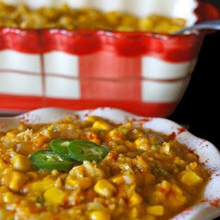 Vegan Jalapeño Creamed Corn