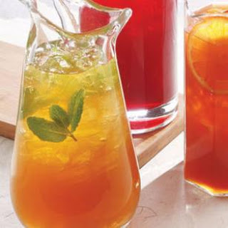 Green Jasmine-Mint Iced Tea with Lemon