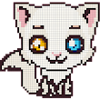 Cats Color by Number- Meow Pixel Art Coloring 2018