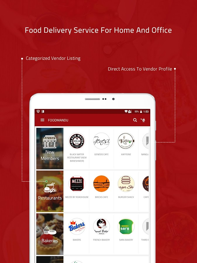 Foodmandu- screenshot