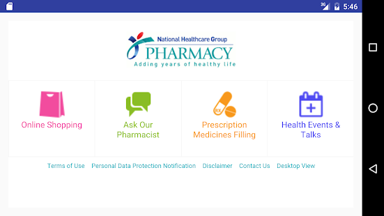 NHG Pharmacy- screenshot thumbnail