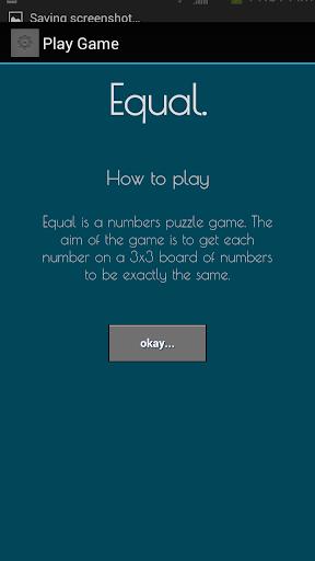 Equal Num