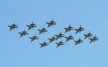Photo: Formacja duńskich F-16